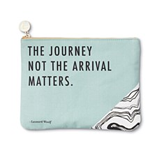"Canvas Pouch ""The Journey"""