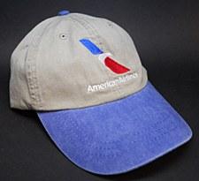 Distressed Stone/Royal Cap