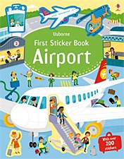 """First Sticker Book-Airport"""