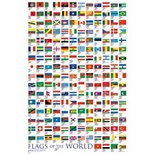 Flags of World Poster
