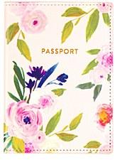 Floral Pasport Cover