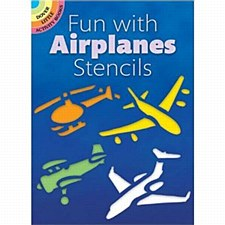 """Fun with Airplanes Stencils"""