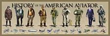 History of Am.Aviator Print