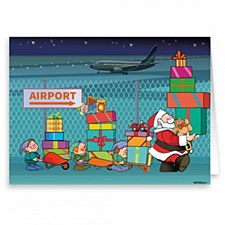 Holiday Card-Airport