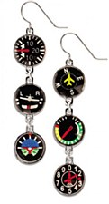Instrument Panel Earrings