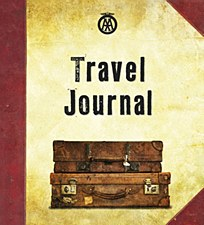 Old Suitcase Travel Journal