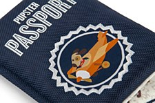 Pupster Globetrotter Passport