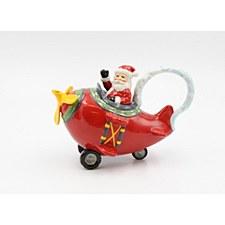 Santa's Flight Teapot