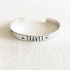 """Travel"" Cuff Bracelet"