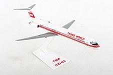 TWA MD-80 1:200 Scale