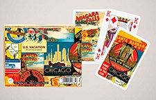 US Vacation Double Deck Cards