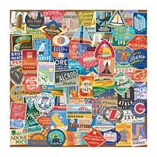 Vintage Travel Puzzle