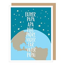 World of Dads Fathers Day Card