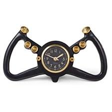 Yoke Clock Black