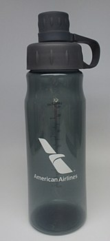 Water Bottle w/Attached Lid Sm
