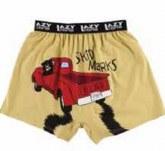 Boxer - Skid Marks - BRN - MED