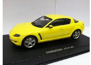 1/32 MAZDA RX8 WLAMPS YELLOW