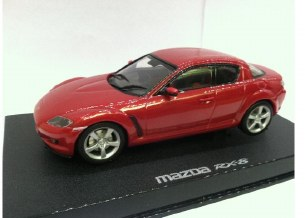 1/32 MAZDA RX8 WLAMPS MET RED