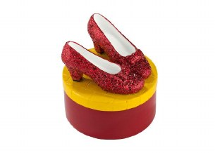 WIZARD OF OZ RUBY SLIPPERS BOX