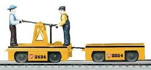 LIONEL PRR HANDCAR WITH