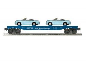 LIONEL FORD FLAT CAR W/