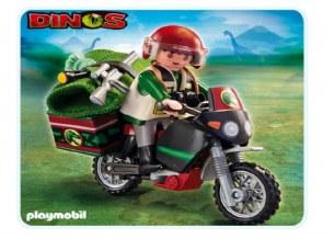 EXPLORER W/MOTORCYCLE