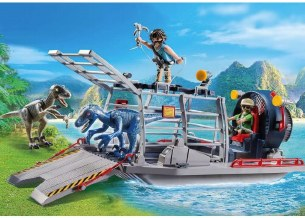 ENEMY AIRBOAT WITH RAPTOR