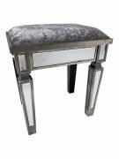 Charleston mirrored stool