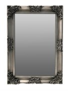 Swept Frame Mirror Silver