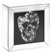 Multi Crystal Skull Decoration