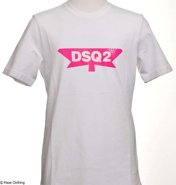 hot-selling fashion design stylish design DSquared2 DSQ2 T Shirt White
