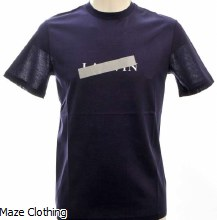 Lanvin Crossed Out T Shirt Ink
