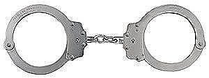 Handcuffs,Oversize,Nickel
