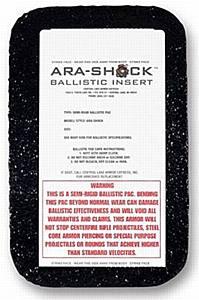 """Plate, Ara-Shock 7"""" x 10"""""""