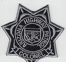AZDPS, Colonel Star Badge