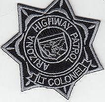 AZDPS, LT. Colonel Star Badge