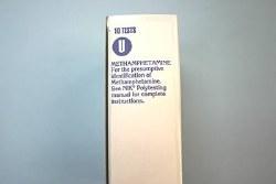 6087, TEST U, METHAMPHETEMI