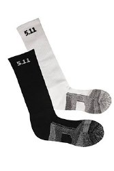 "59048, Black 9"" Sock Lg"