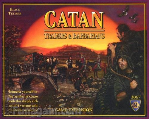 CATAN TRADERS & BARBARIANS EXP