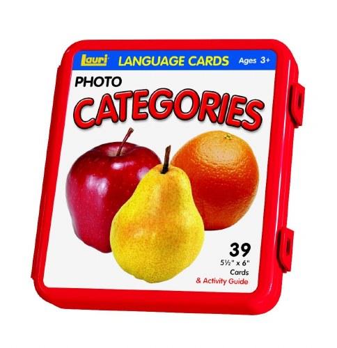 LANGUAGE CARDS CATEGORIES