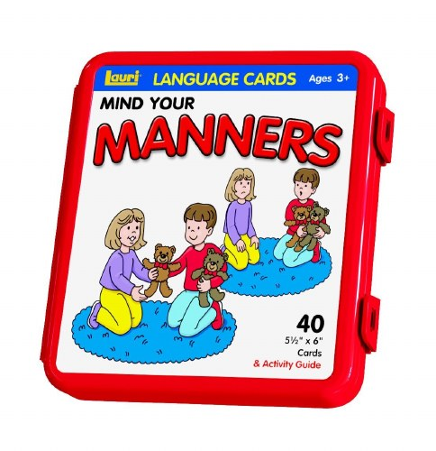 LANGUAGE CARDS MANNERS