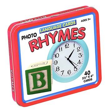 LANGUAGE CARDS RHYMES