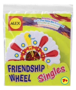 ALEX FRIENDSHIP WHEEL SINGLES