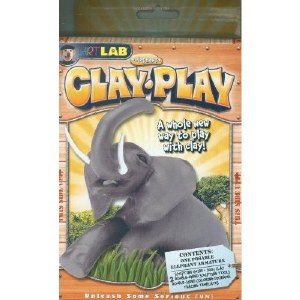 CLAY PLAY ELEPHANT
