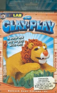 CLAY PLAY LION