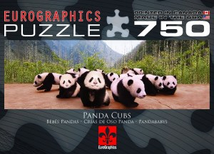 EG PANDA CUBS 750PC