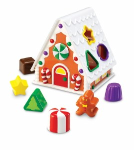 GINGERBREAD SHAPE SORTER