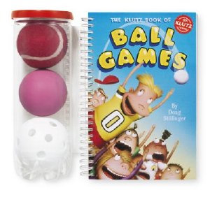 KLUTZ BOOK OF BALL GAMES
