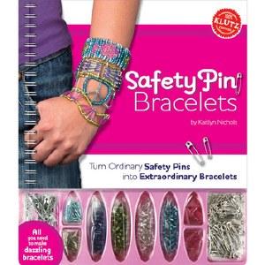 KLUTZ SAFETY PIN BRACELETS