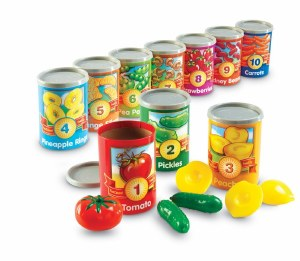 LR 1 TO 10  COUNTING CANS